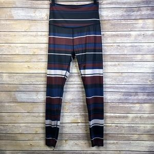 Beyond Yoga Stripe Lux High Waisted 7/8 Leggings